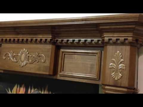 Alder Classic Mantel - Sharpsburg With Harrisburg Appliqués