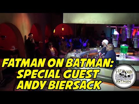 FATMAN ON BATMAN: SPECIAL GUEST ANDY BIERSACK