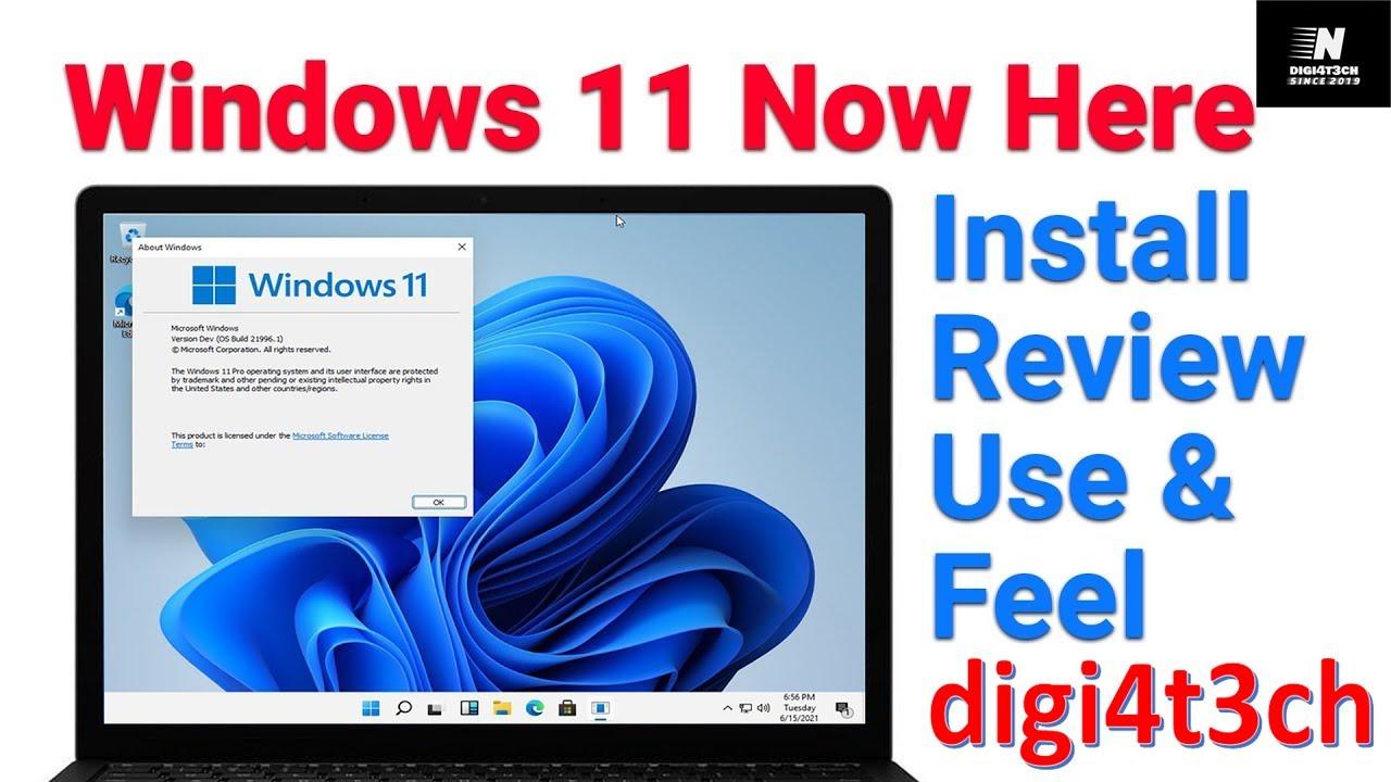 |Windows 11| |Full Review| |DIGI4T3CH|
