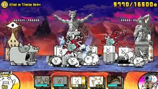 Video The Battle Cats - Attack on Titanium Hard++ download MP3, 3GP, MP4, WEBM, AVI, FLV Agustus 2018