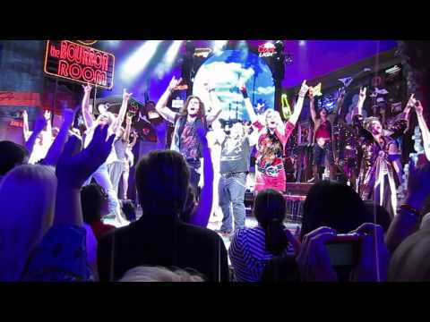 Rock of Ages Toronto Don't Stop Believin' Finale