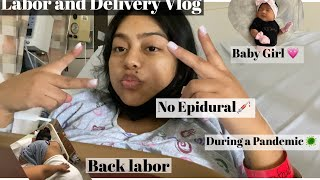 Labor and Delivery Vlog 🤱🏻💗