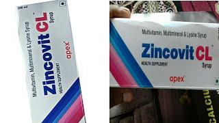 Zincovit - LC Syrup ( अपने पिचके गाल को फुलाए और किसी तरह की कमजोरी को दूर करे ) Use Hindi Reviews