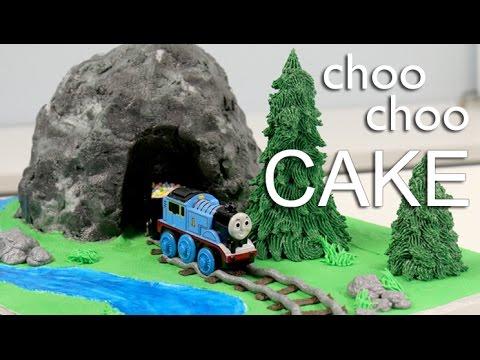 Easiest Thomas The Train Cake Youtube