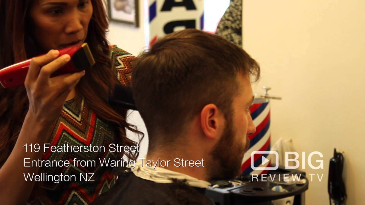 Groom Barbers Shop In Wellington Nz For Mens Hairstyles And Haircuts
