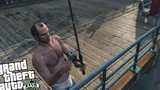 GTA 5 PC - FISHING MOD! (The Fishing Simulator!)