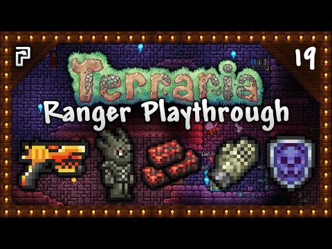 🌳 Terraria 1.3.4 Let's Play | Ranger Playthrough | Necro Armour & The Phoenix Blaster! [Episode 19]
