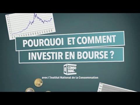 Pourquoi et comment investir en bourse