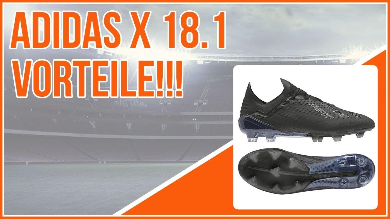 the best attitude 580cb f2091 die Vorteile der adidas X 18.1 Fußballschuhe