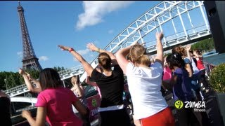 "Zumba Fitness Sets Sail on Famed ""La Seine"" River in Paris, France"