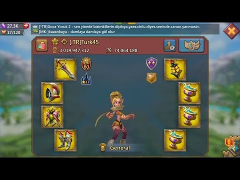 Lords Mobile Buyed 12.000$ Hero By Turk45/ Opening Gold Boxes