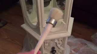 Annie Sloan Chalk Paint Curio Cabinet