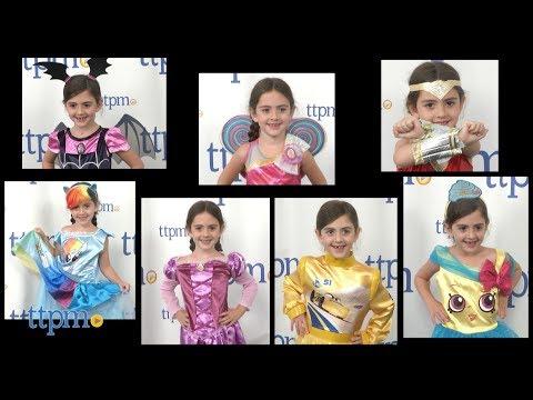 New Halloween Costumes Like Wonder Woman, My Little Pony, Barbie Dreamtopia, Vampirina & More