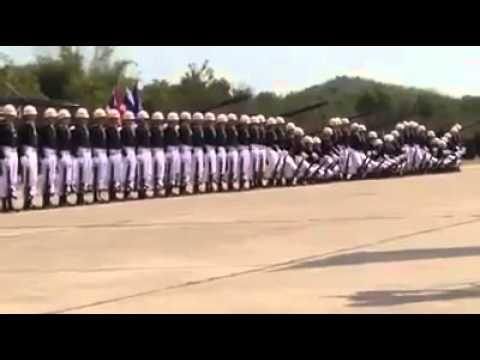Militares montan el mejor espectáculo de coordinación del mundo