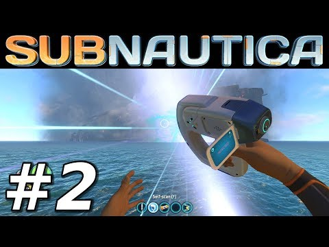 SUBNAUTICA - Scanning for Blueprints! - Let's Play Subnautica Gameplay - Episode 2