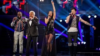 The Voice UK Coaches Take On Each Other's Hits - The Voice UK - Live Final - BBC One thumbnail
