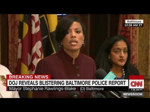 Report: Baltimore cops targeted African-Americans