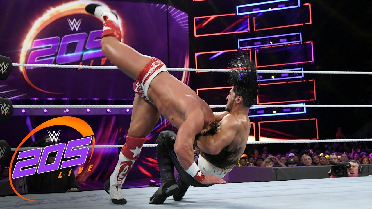 Mustafa Ali vs. Tony Nese: WWE 205 Live, Oct. 31, 2018