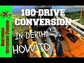Hobie Mirage GT to 180 Turbo Drive Conversion