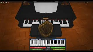 Roblox Virtual Piano - Through the Fire and Flames