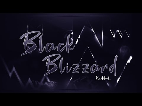 Black Blizzard by KrmaL [Extreme Demon] l Geometry Dash