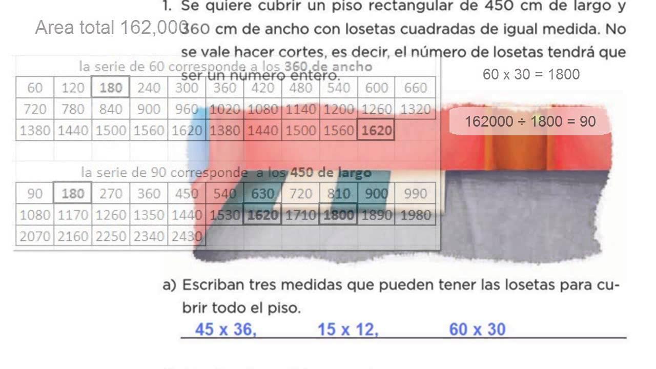 matematicas de sexto 2.0 pags 134,135, 136, 137 y 138 (2015) - YouTube