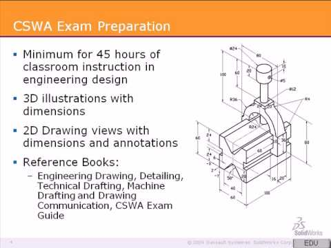 Solidworks Cswa Tutorial 1 Preparing For The Exam Youtube