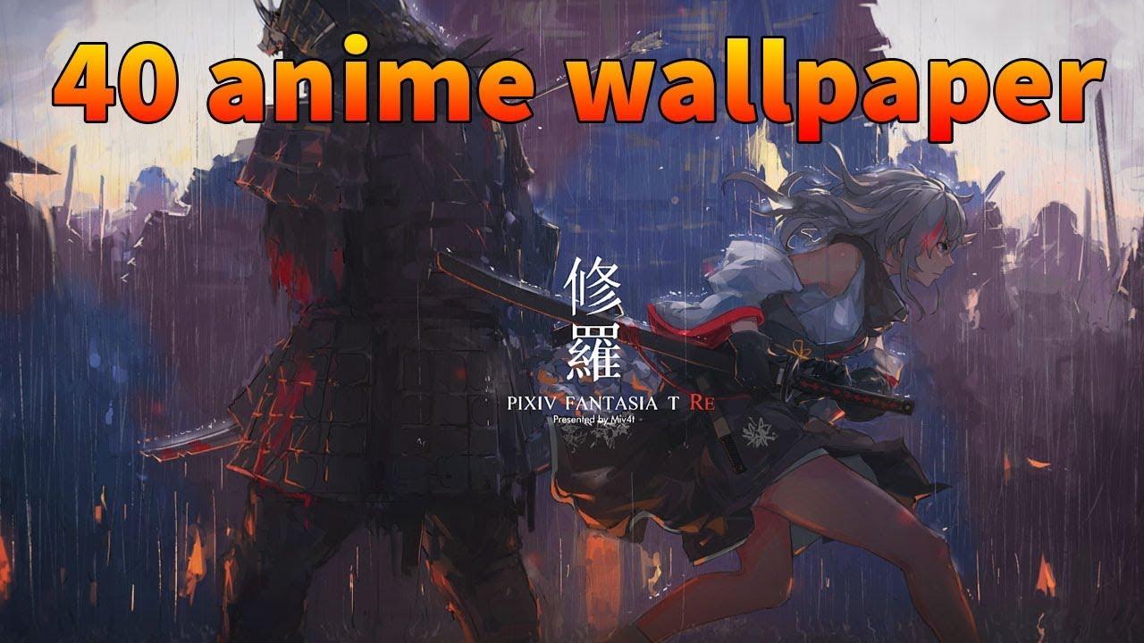 TOP 40 Anime Wallpaper Engine Beautiful ★ 2018 - YouTube