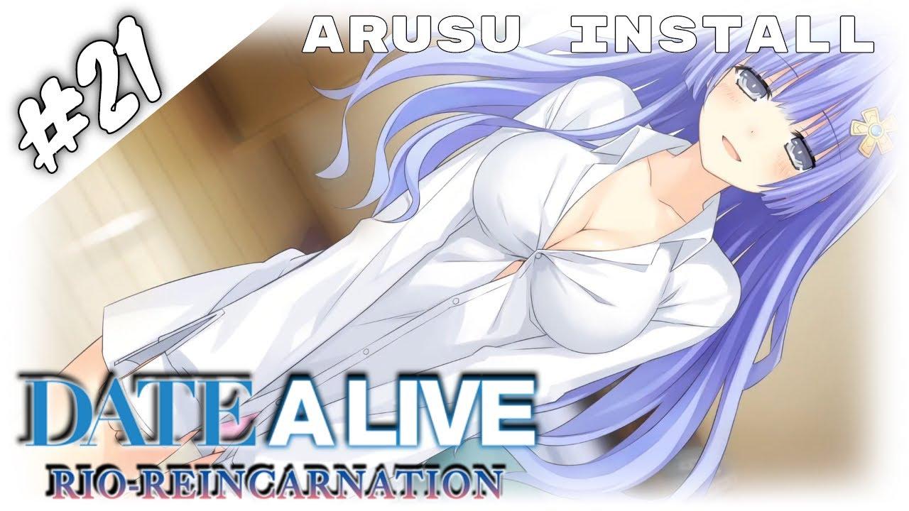 Date A Live Arusu Install 21 Sexy Miku Zukunft S Wunsche Visual Novel Pc Komm Deutsch Youtube