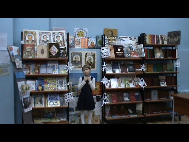 Изображение предпросмотра прочтения – ТамараПатмар читает произведение «Ворона и Лисица» И.А.Крылова