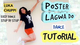 POSTER LAGWA DO Dance Tutorial Step By Step | Luka Chuppi |DANCE  CHOREOGRAPHY BY POOJA CHAUDHARY