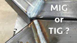 Fabrication Basics // Mig vs Tig - Which is Faster?