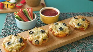 Quick Mini Pizza Recipe By Food Fusion