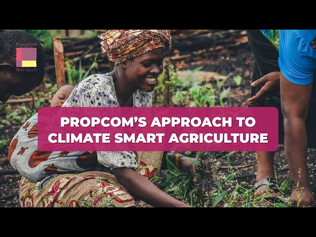 Webinar: Propcom's Approach to Climate Smart Agriculture