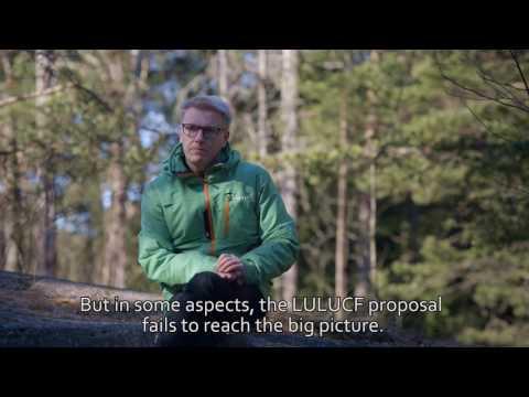Kimmo Tiilikainen: Finland and LULUCF 10.5.2017