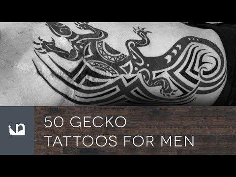 50 Gecko Tattoos For Men