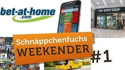 Media Markt Games/Wettguthaben /Moto X/Postbus 5€ /Body Shop - SCHNÄPPCHENFUCHS WEEKENDER #1