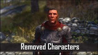 Skyrim: 5 More Interesting Characters That Bethesda Removed - The Elder Scrolls 5 Secrets