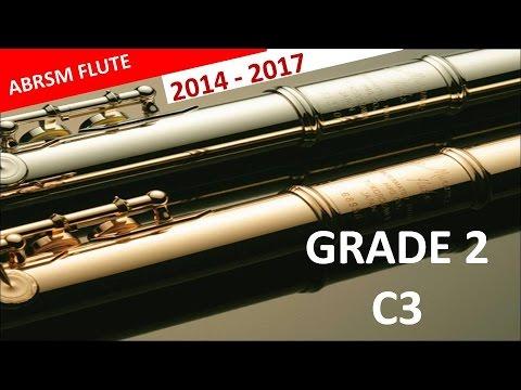 Flute ABRSM Grade 2 2014-2017 C3:Emil Prill Study in D