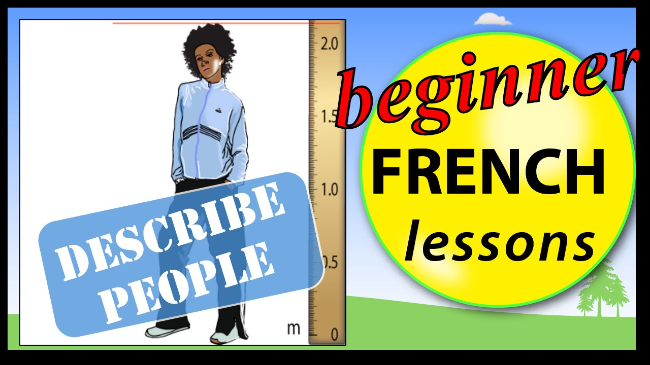 What are the physical characteristics of French people?