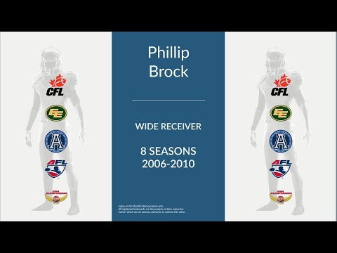 Phillip Brock: Football Wide Receiver and Running Back