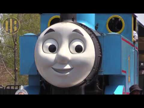 Trains For Children: Real Life Thomas the Tank Engine - 동영상