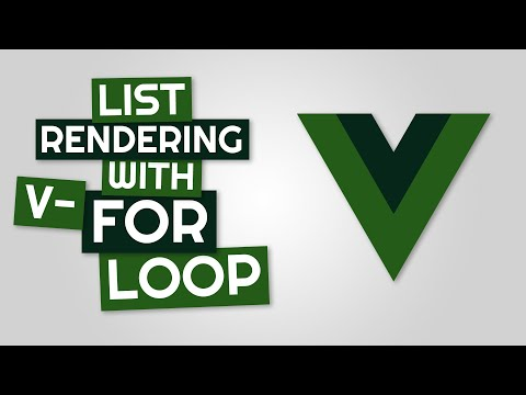 List Rendering with v-for loop in Vue JS thumbnail