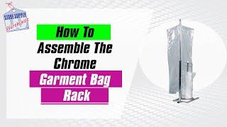 Garment Bag Rack Assembly