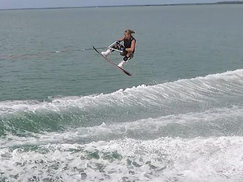 DJI Phantom 3 Pro Wakeboarding summer 2015