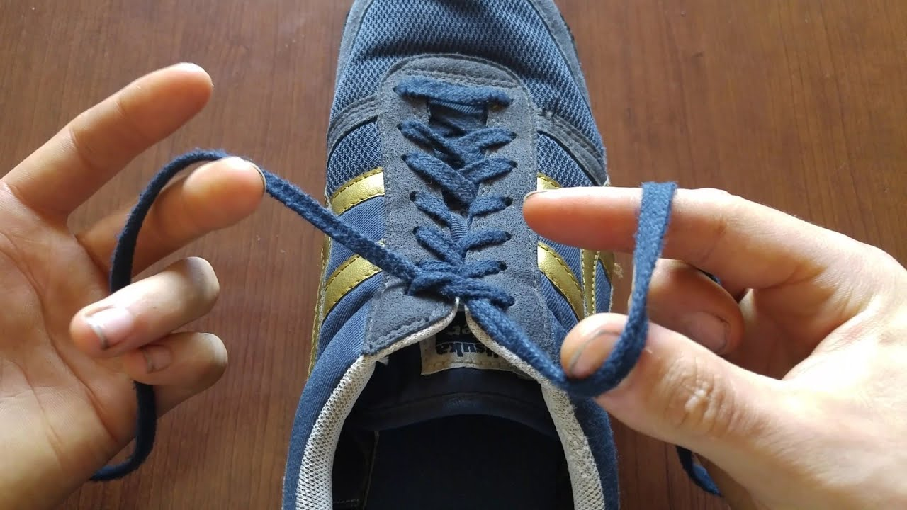 How To Tie Your Shoes Insanely Fast YouTube