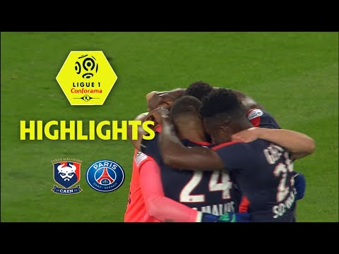 SM Caen - Paris Saint-Germain ( 0-0 ) - Highlights - (SMC - PARIS) / 2017-18