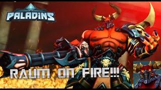 RAUM ON FIRE | PALADINS