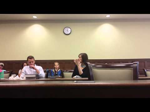 Nathan Cox Q & A with University of Richmond Law Students