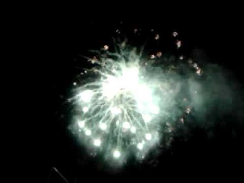 2012 countdown fireworks at penang padang kota